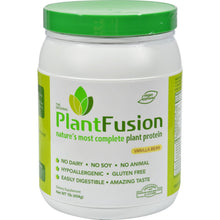 Load image into Gallery viewer, Plantfusion Multi Source Plant Protein Vanilla Bean - 1 Lb - thegsnd