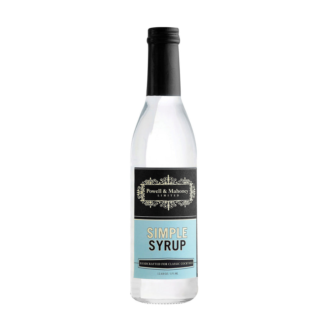 Powell And Mahoney Cocktail Mixer - Simple Syrup - Case Of 6 - 12.68 Oz - thegsnd