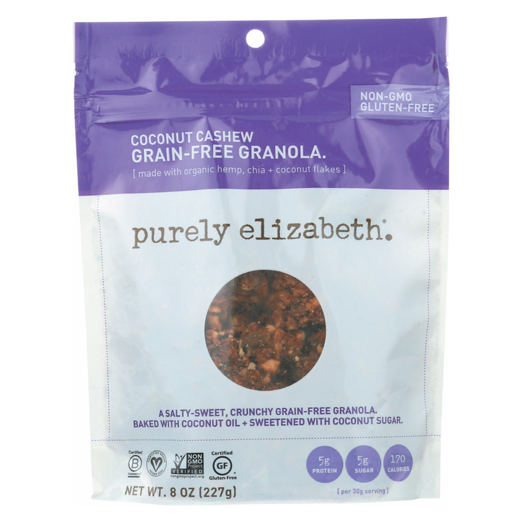 Purely Elizabeth Grain-free Granola - Original - Case Of 6 - 8 Oz. - thegsnd