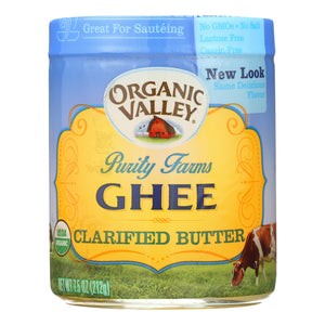 Purity Farms Ghee - Clarified Butter - Case Of 12 - 7.5 Oz. - thegsnd