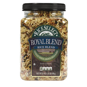 Rice Select Royal Blend - White, Brown And Red - Case Of 4 - 21 Oz. - thegsnd