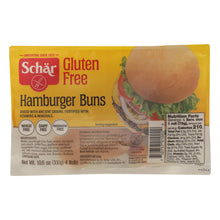 Load image into Gallery viewer, Schar Hamburger Buns - Case Of 6 - 10.6 Oz. - thegsnd