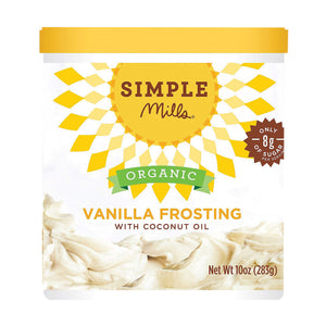 Simple Mills Organic Frosting -vanilla - Case Of 6 - 10 Oz - thegsnd