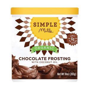 Simple Mills Organic Frosting - Chocolate - Case Of 6 - 10 Oz - thegsnd