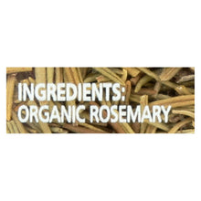 Load image into Gallery viewer, Simply Organic Rosemary Leaf- Organic - Whole - 1.23 Oz - thegsnd