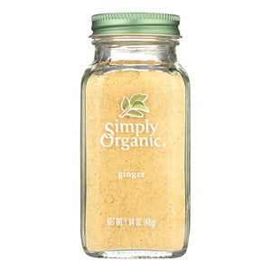 Simply Organic Ginger Root - Organic - Ground - 1.64 Oz - thegsnd