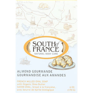 South Of France Bar Soap - Almond Gourmand - 6 Oz - 1 Each - thegsnd