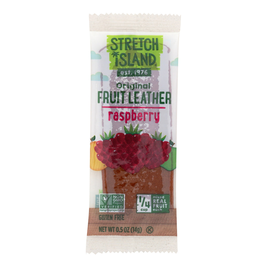 Stretch Island Fruit Leather Strip - Ripened Raspberry - .5 Oz - Case Of 30 - thegsnd
