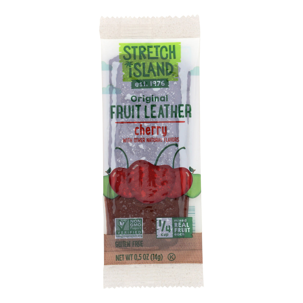 Stretch Island Fruit Leather Strip - Orchard Cherry - .5 Oz - Case Of 30 - thegsnd
