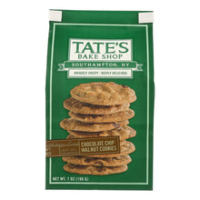 Load image into Gallery viewer, Tate's Bake Shop Chocolate Chip Walnut Cookies - Case Of 12 - 7 Oz. - thegsnd