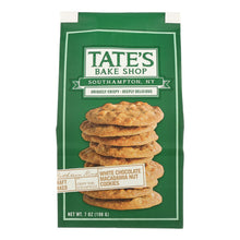 Load image into Gallery viewer, Tate's Bake Shop White Chocolate Macadamia Nut Cookies - Case Of 12 - 7 Oz. - thegsnd
