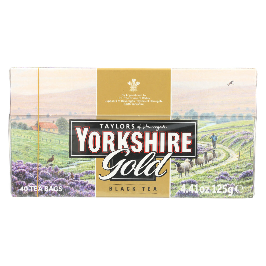 Taylors Of Harrogate Yorkshire Tea - Gold - Case Of 5 - 40 Bags - thegsnd