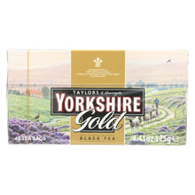 Load image into Gallery viewer, Taylors Of Harrogate Yorkshire Tea - Gold - Case Of 5 - 40 Bags - thegsnd