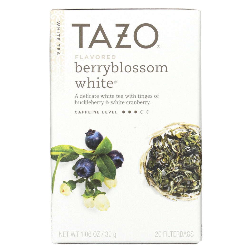 Tazo Tea Tea - White - Case Of 6 - 20 Bag - thegsnd