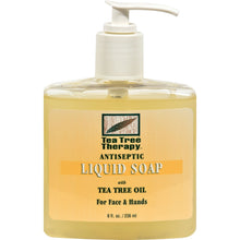 Load image into Gallery viewer, Tea Tree Therapy Antibacterial Liquid Soap With Tea Tree Oil - 8 Fl Oz - thegsnd