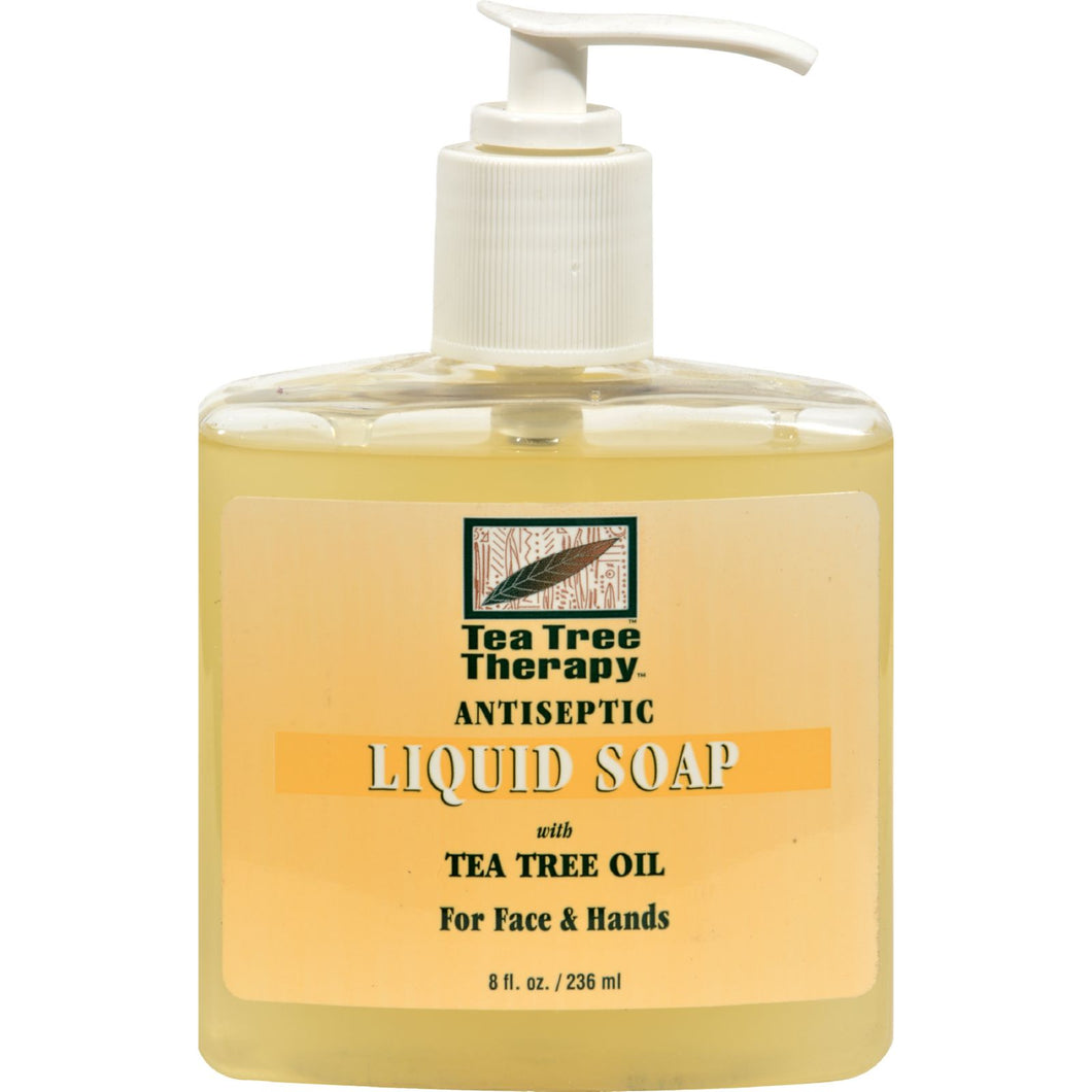 Tea Tree Therapy Antibacterial Liquid Soap With Tea Tree Oil - 8 Fl Oz - thegsnd