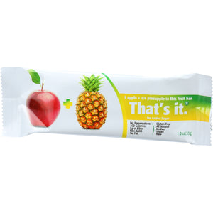 That's It Fruit Bar - Apple And Pinapple - Case Of 12 - 1.2 Oz - thegsnd