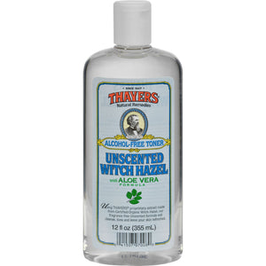 Thayers Witch Hazel With Aloe Vera Unscented - 12 Fl Oz - thegsnd