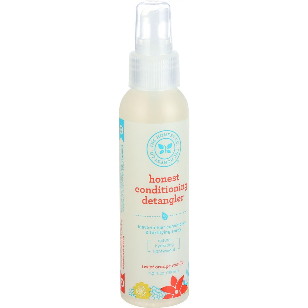The Honest Company Honest Conditioning Detangler - Sweet Orange Vanilla - 4 Oz - thegsnd