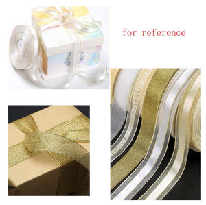 Gift Wrapping Decoration Ribbon Creative Diy Cake Ribbon 2 Rolls, Style B - thegsnd
