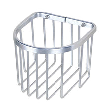 Load image into Gallery viewer, New Bathroom Tissue Holder Aluminium Toilet Roll Holders Basket, Silver - thegsnd
