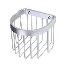 Load image into Gallery viewer, New Thicken Bathroom Tissue Holder Aluminium Toilet Roll Holders Basket, Silver - thegsnd