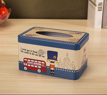 Load image into Gallery viewer, European Creative Living Room Iron Tissue Boxes, Cartoon Traffic Police - thegsnd