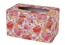 Load image into Gallery viewer, European Creative Living Room Iron Tissue Boxes, Big Heart Shapes - thegsnd