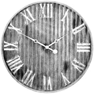 Westclox 37051 13-inch Stylish Metal Wall Clock With Metal Dial - thegsnd