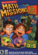 Math Missions: The Amazing Arcade Adventure With Math Card Game (grades 3-5) - thegsnd