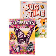 Coloring Book Bug Time 2 Asst Case Pack 120 - thegsnd