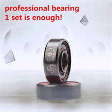 Load image into Gallery viewer, ABEC11 ILQ-11 Professional High Speed Inline Roller Skates Bearing 608 608RS PRO Skating Bearing Chrome Better ABEC-9 ILQ-9 EST - thegsnd