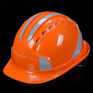 ABS Safety Helmets head Protection Safety Work Cap Safety Hard Hat Construction - thegsnd