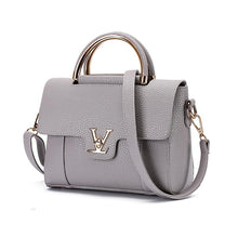 Load image into Gallery viewer, Flap V Women's Luxury Leather Clutch Bag Lady Handbags Messenger Bags-thegsnd