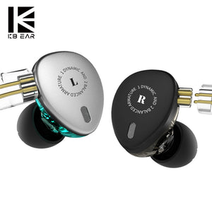 AK KB EAR KB06 6 Driver 2BA+1DD Hybird Technology in Ear Earphone Bass DJ Running Sport HIFI Headset Mini Earbud KEEAR F1/KB10 - thegsnd