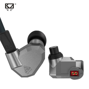 AK KZ ZS5 2DD+2BA Hybrid In Ear Earphone HIFI DJ Monito Running Sport Earphones Earplug Headset Earbud KZ ZS10 PRO AS10 AS16 - thegsnd