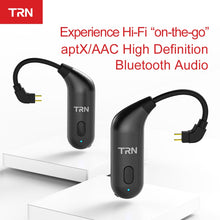 Load image into Gallery viewer, AK TRN BT20S APTX Wireless Bluetooth 5.0 Ear Hook HIFI Earphone 2PIN/MMCX Connector For TRN X6/IM1/IM2/V80/v30 Revonext QT5/QT2 - thegsnd
