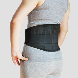 Adjustable Medical Lower Back Brace Waist Belt Spine Support Men Belts Breathable Lumbar Corset Orthopedic Back Support - thegsnd