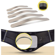 Load image into Gallery viewer, Adjustable Tourmaline Self Heating Steel Bone Back Lumbar Waist Support Belt Brace Back Orthopedic Posture Corrector Corset Belt - thegsnd