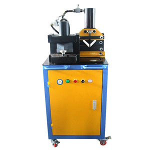 Angle iron processing machine angle iron cutting machine chamfering machine angle cutter angle steel bending machine - thegsnd