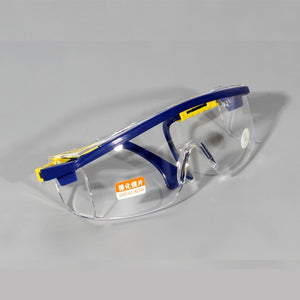 Anti-Impact Professional Clear Safety Glasses Chainsaw Brush Cutter Work Goggle Foresting Equipment Labour Protection - thegsnd