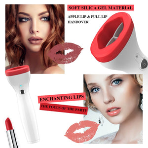 Automatic Lip Plumper Electric Plumping Device Fuller Bigger Thicker Lips for Women Hot Mdf - thegsnd