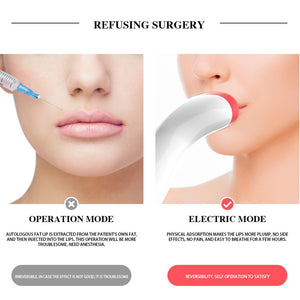 Automatic Lip Plumper Electric Plumping Device Fuller Bigger Thicker Lips for Women Professional Women Lips Plumper - thegsnd