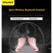 Load image into Gallery viewer, Awei Blutooth Sport Headset Earbud In-Ear Cordless Wireless Headphone Auriculares Bluetooth Earphone For Your In Ear Phone Buds - thegsnd