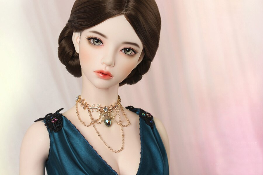 BJD  SD doll 1/3 3 points girl  A birthday present High Quality Articulated puppet Toys gift Dolly Model nude Collection - thegsnd