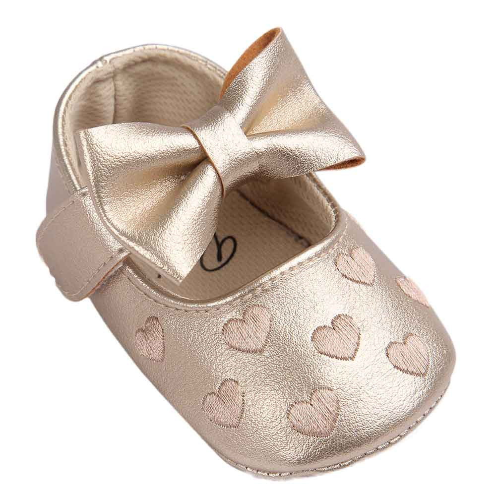 Baby Infant Shoes Girls Crib Tassels Bowknot Leather Sneakers Casual Newborn Toddler Boys First Walker Sole Anti-Slip Shoe BTTF - thegsnd