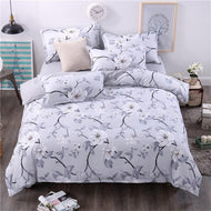 Bedding Set 4 Pieces Cartoon cat Style Watermelon Duvet Cover Pillowcase Bedsheet Home Decoration Textile Bed Linen - thegsnd