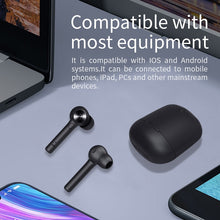 Load image into Gallery viewer, Bluedio HI wireless earphone bluetooth 5.0 earphone for phone stereo sport earbuds headset with charging box built-in microphone - thegsnd