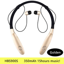 Load image into Gallery viewer, Bluetooth Earphone Wireless Headphones Running Sports Bass Sound Cordless Ear phone With Microphone For Iphone Xiaomi Earbuds - thegsnd