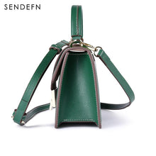 Load image into Gallery viewer, SENDEFN Crossbody Bag Female Split Leather Shoulder For iPhone 7S-thegsnd